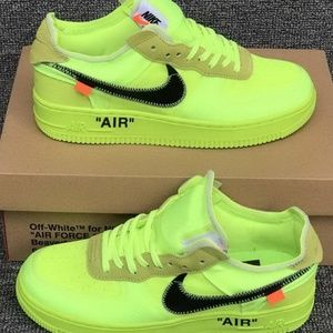 Men Low Air Force One Size 7
